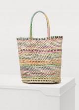 Sensi Studio Striped handbag. MULTICOLOURED STRIPES