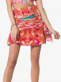 All Things Mochi Mabel Tie Dye Cotton Wrap Skirt