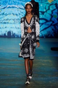Anna Sui RTW Spring/Summer 2016 New York Fashion Week. NYFW ~ designer clothing ~ printed outfits ~ trends