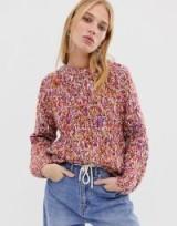 ASOS WHITE chunky multi knit jumper | multi-coloured crew neck