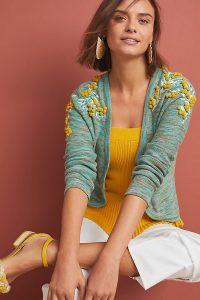 Anthropologie Pommed Campsis Cardigan | cute knitwear