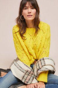 Sleeping On Snow Bright Lights Jumper Yellow | bright sunny sweater