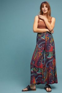 ett:twa Takutea Wide-Leg Trousers | floaty printed pants