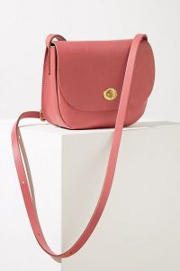 Mimi Berry Francis Leather Crossbody Bag in Pink