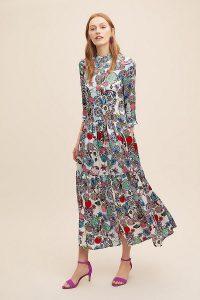 Jessica Russell Flint Rock The Kashah Silk Shirt Dress