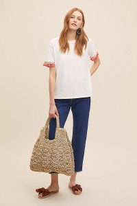 The Jacksons Tami Straw-Jute Bag Cream. NATURAL TOTE BAGS