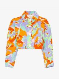 Cap Celeste Jacquard Cropped Jacket / bold prints