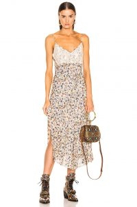 CHLOE Floral Slip Dress | thin strap cami dresses