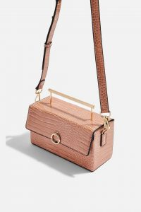 Topshop Coro Boxy Grab Bag in Apricot | affordable luxe | bags and accessories