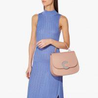 COCCINELLE Craquante Maxi in Pivoine | feminine peony-pink handbag