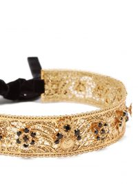 DOLCE & GABBANA Crystal-embellished headband ~ beautiful Italian accessories