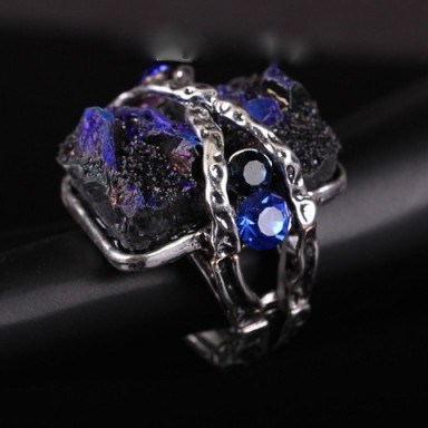 Dazzling Stone Ring – Tutu's Jewellery - flipped