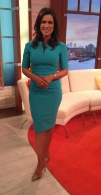 Susanna Reid wearing a Diva Catwalk green dress #likethelook