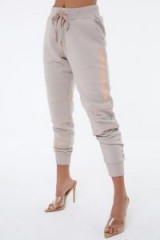 THE COUTURE CLUB DEFINITION PIPED JOGGERS ~ side branded jogger ~ casual look fashion