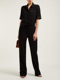PALLAS X CLAIRE THOMSON-JONVILLE Emotion crepe and satin jumpsuit | Matches Fashion