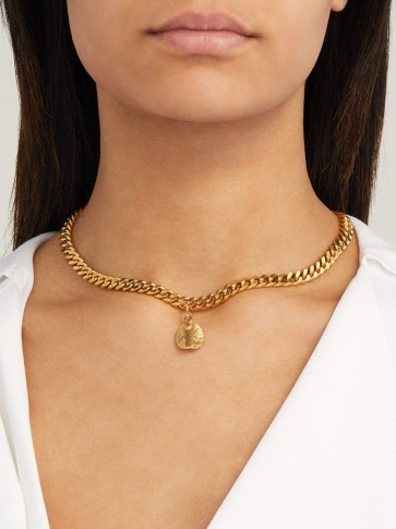 ORIT ELHANATI Fananda gold-plated necklace ~ hammered pendants ~ jewellery with effortless style