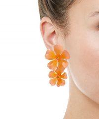 JENNIFER BEHR Sadira Floral Drop Earrings | vibrant flower drops