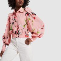 La DoubleJ FEVER SHIRT in Orchidee | bubblegum-pink blouse