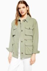 TOPSHOP Fisherman Jacket in pistachio – green utilitarian style fashion