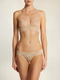 LA PERLA Freedom Leavers-lace triangle bra | Matches Fashion