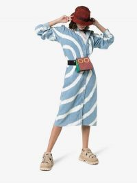 Ganni Acadia Tie-Dye Shirt Dress / casual style dresses