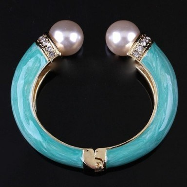 Gold plate bangle – Tutu's Jewellery - flipped
