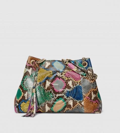 Gucci soho leather shoulder bag. Luxury accessories / multicoloured bags / designer handbags