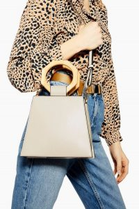 Topshop Harper Hexagon Handle Grab Bag   geometric shapes