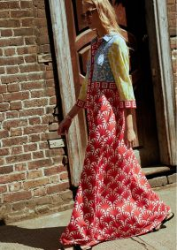 The Dressing Room HAYLEY MENZIES JASMINE LONG SHIRT DRESS – MULTI