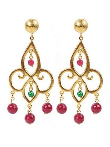 JCM London Ottoman chandeiler earrings Multi-Coloured Item No. 194855901, found at houseoffraser.co.uk. Satement earrings | ethnic style jewellery - flipped
