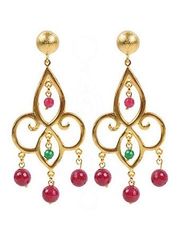 JCM London Ottoman chandeiler earrings Multi-Coloured Item No. 194855901, found at houseoffraser.co.uk. Satement earrings | ethnic style jewellery