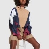Preen By Thornton Bregazzi LAURA KNIT Navy/White/Blue/Purple ~ sports style top ~ stylish casual clothing
