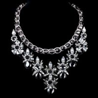 Luxury crystal and rhinestone necklace – Tutu's Jewellery