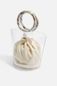 Topshop Mazzy TPU Mini Grab Bag | small clear handbag | ring handle bags