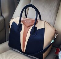 Michael Kors beige and black bag