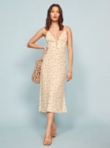 REFORMATION Montague Dress in Bellagio / ditsy floral print dresses