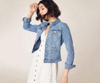 OASIS NANCY DENIM JACKET Light Wash / classic jackets