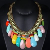 Oval drop necklace – Tutu's Jewellery