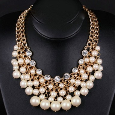 Pearl necklace – Tutu's Jewellery - flipped