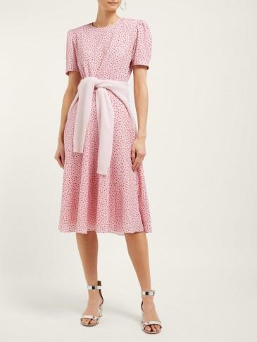 VIKA GAZINSKAYA Polka dot-print crepe midi dress   Matches Fashion