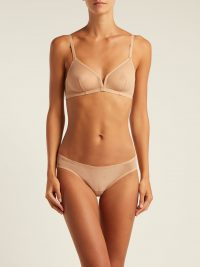 ERES Providence tulle triangle bra | Matches Fashion
