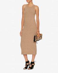 Ronny Kobo Varvara Long Rib Dress – in the style of Kourtney Kardashian (different colour) 28 September 2015. Celebrity fashion | star style | designer dresses | what celebrities wear
