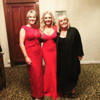 Ruth Langsford, Carol Vorderman and Linda Robson looking suitably glamorous for the Pride Of Britain Awards.