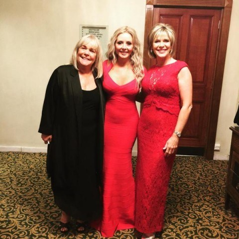Ruth Langsford, Carol Vorderman and Linda Robson looking suitably glamorous for the Pride Of Britain Awards. - flipped