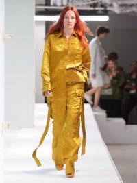 SIES MARJAN Sander crinkled-satin shirt | Matches Fashion