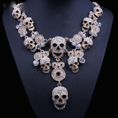 Skull choker – Tutu's Jewellery