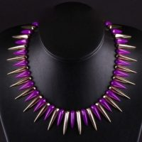 Spiked necklace – Tutu's Jewellery