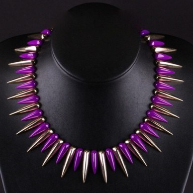 Spiked necklace – Tutu's Jewellery - flipped