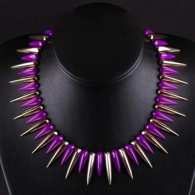 Spiked necklace – Tutu's Jewellery