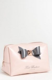 Ted Baker London 'Large Bow' Cosmetics Bag Nordstrom